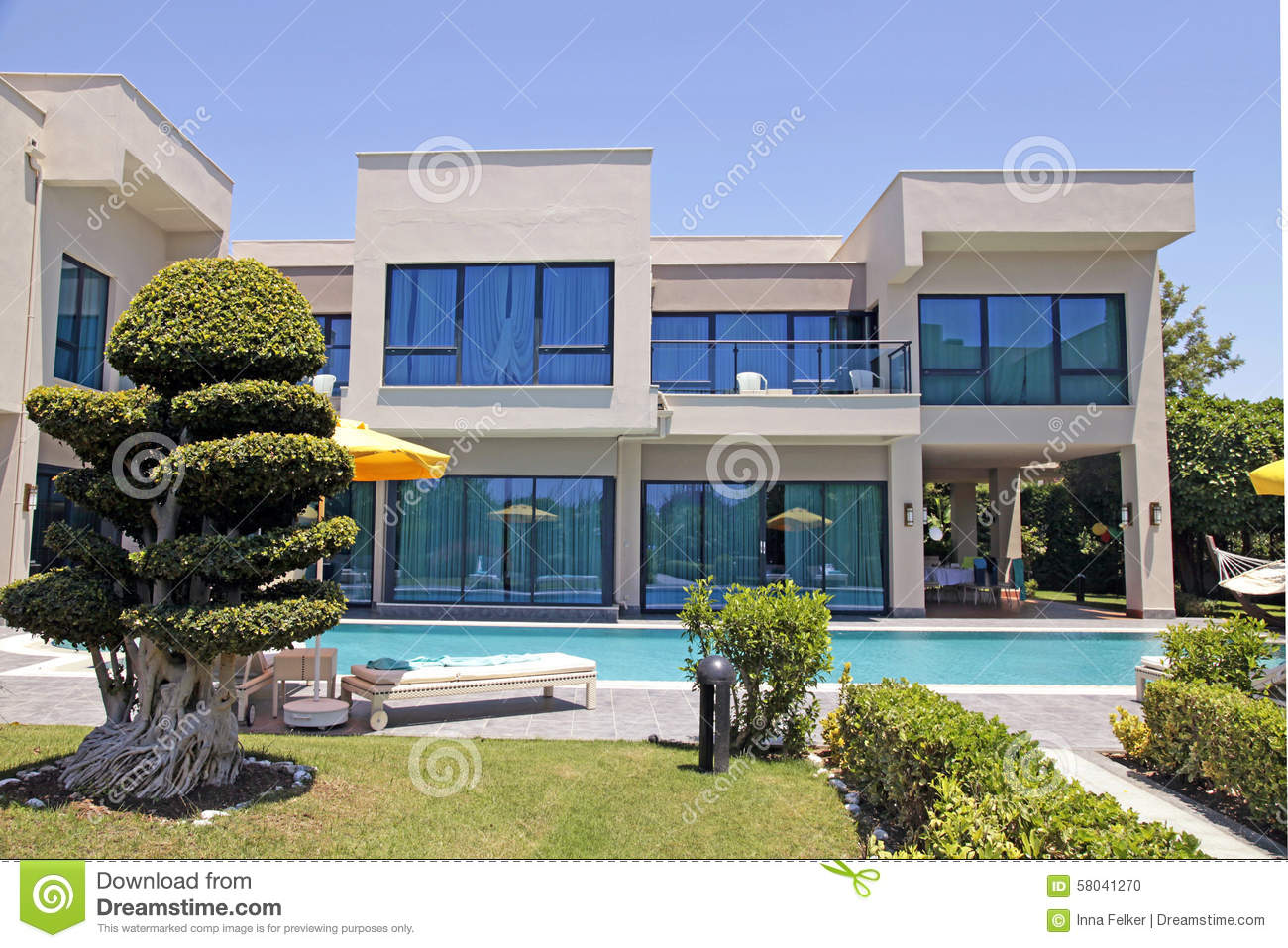 Luxury Holiday Villa With Pool Swimming Pool And Modern Luxury Holiday Villa Belek Turkey
