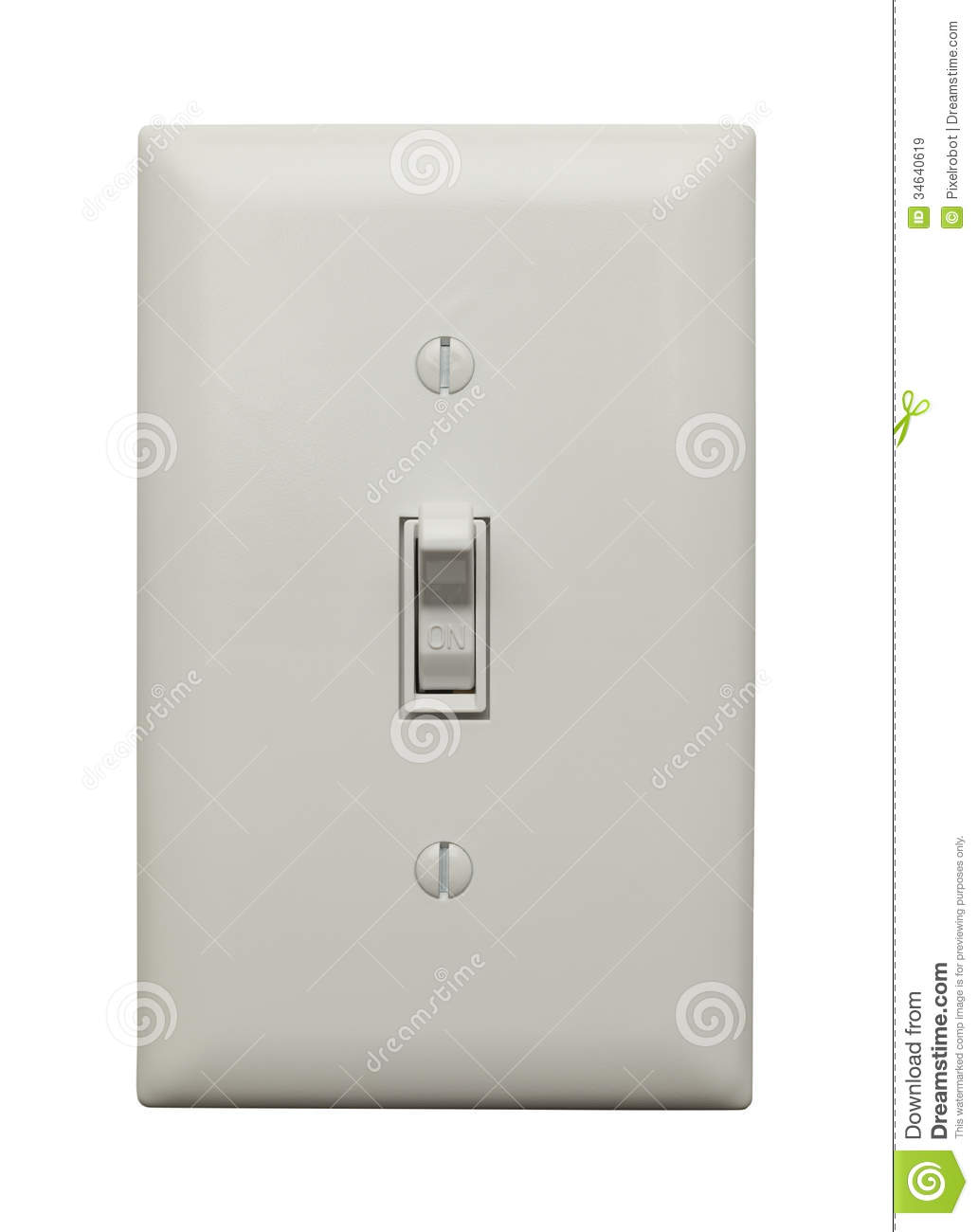Switch Light On Switch Stock Image Image Of Color Concepts Remote 34640619