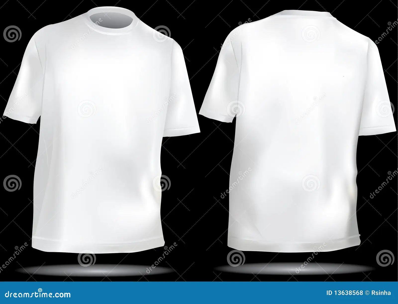 Black t shirt plain front and back - Black T Shirt Plain Template Blank Black T Shirt Template T Shirt Template With Front