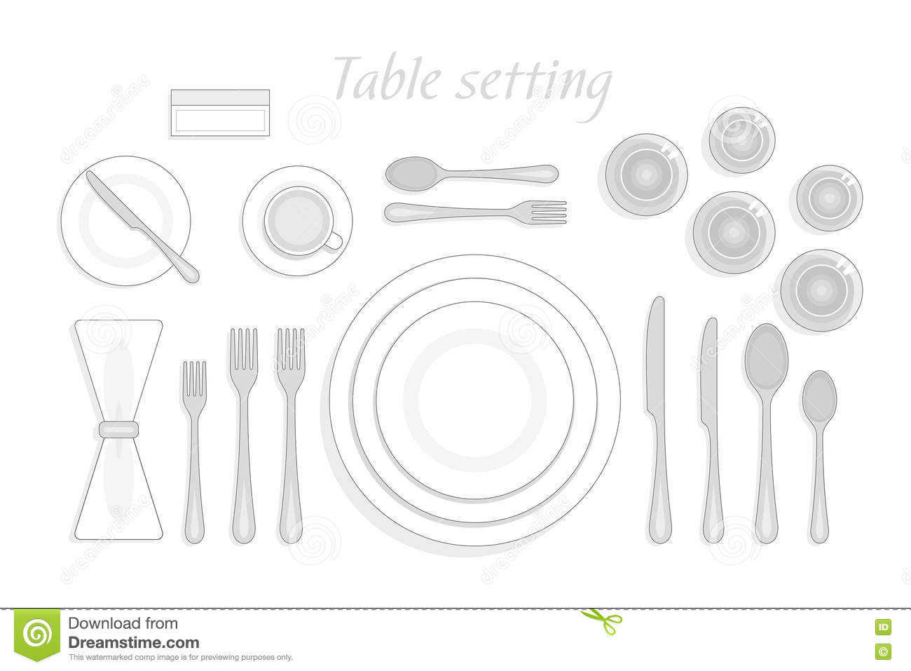 Top Ten Table Manners ...  sc 1 st  Castrophotos & Setting Cutlery On Table Formal - Castrophotos
