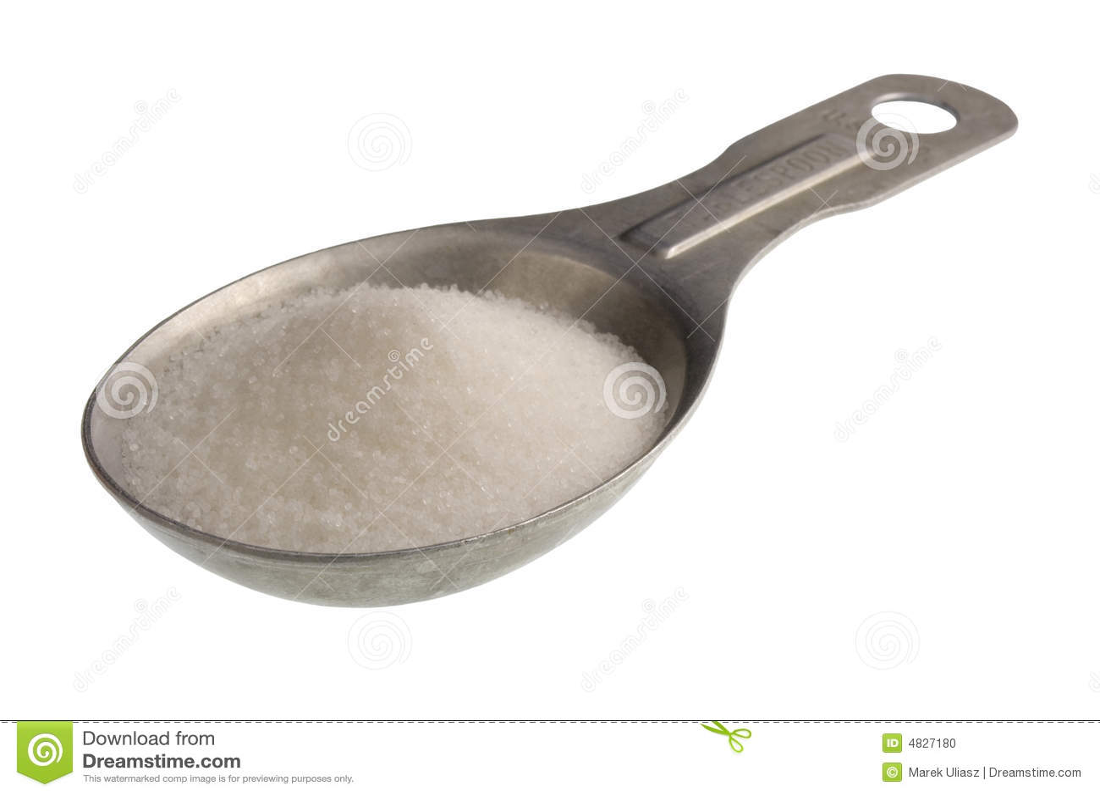 Tablespoon Of Salt Stock Photo Image Of Kitchen Diet