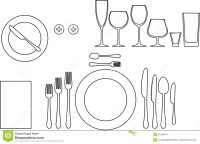 Tableware Royalty Free Stock Photography - Image: 31096947