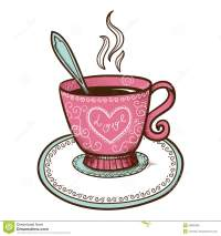 Pics For > Coffee Cup Heart Clipart