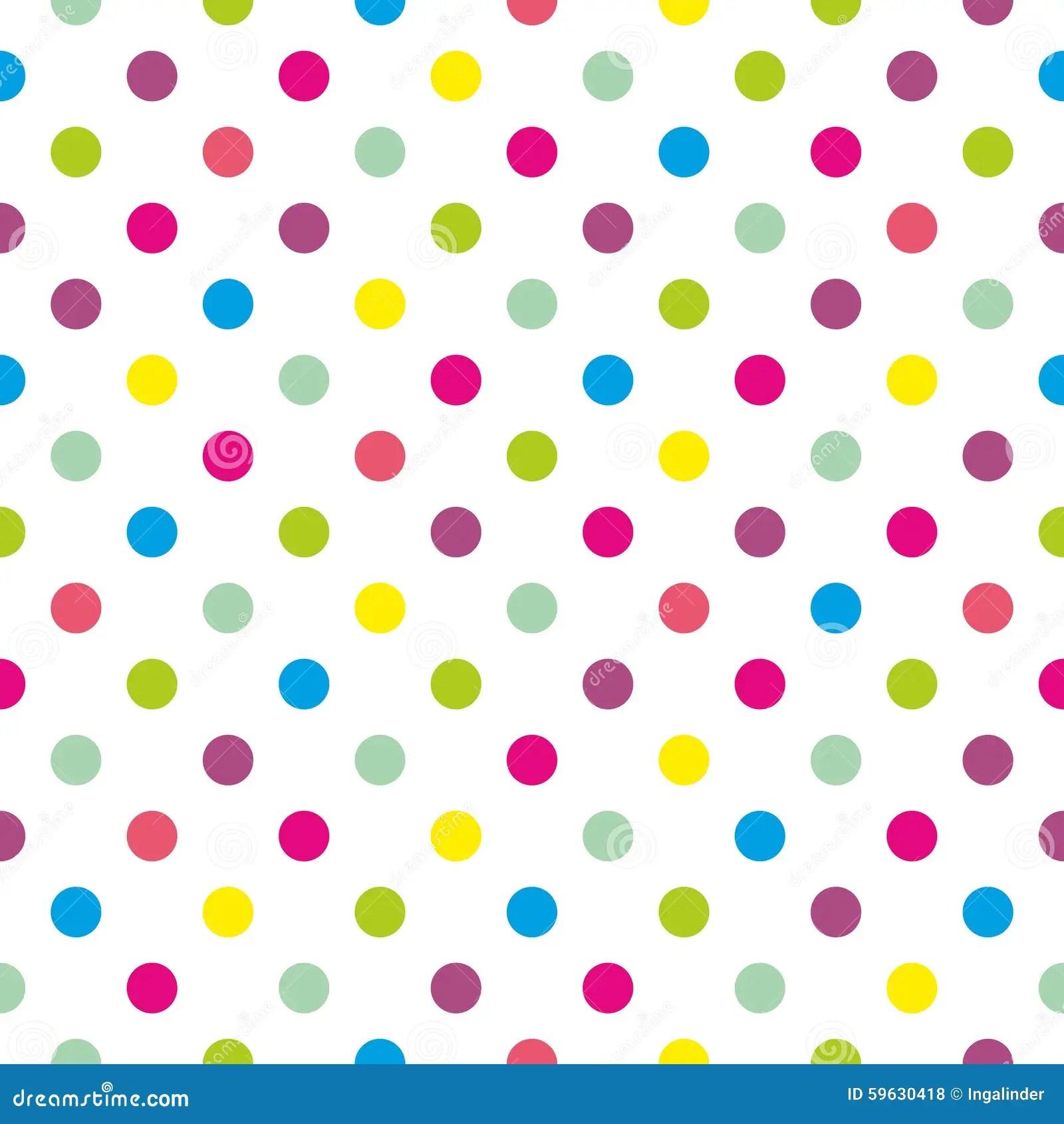 Iphone X Off White Wallpaper Teje El Modelo Del Vector Con Los Lunares En Colores
