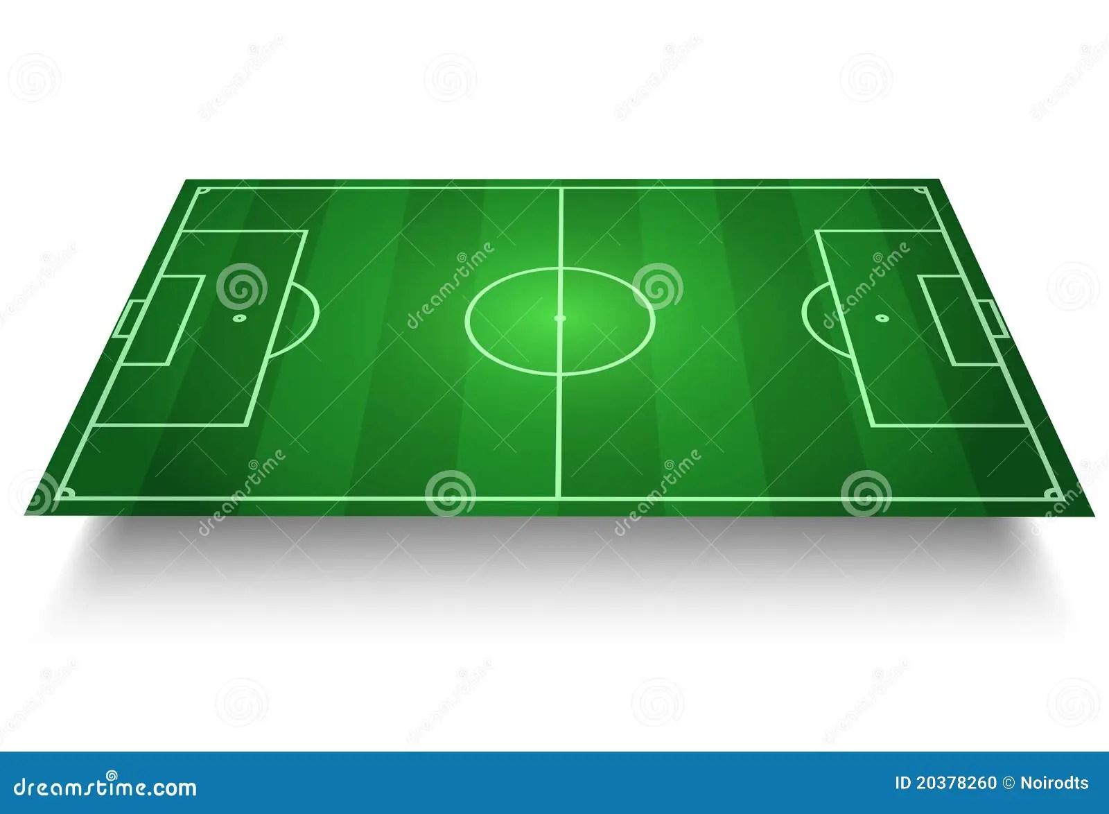 Aj 3d Wallpaper Terrain De Football Illustration De Vecteur Illustration