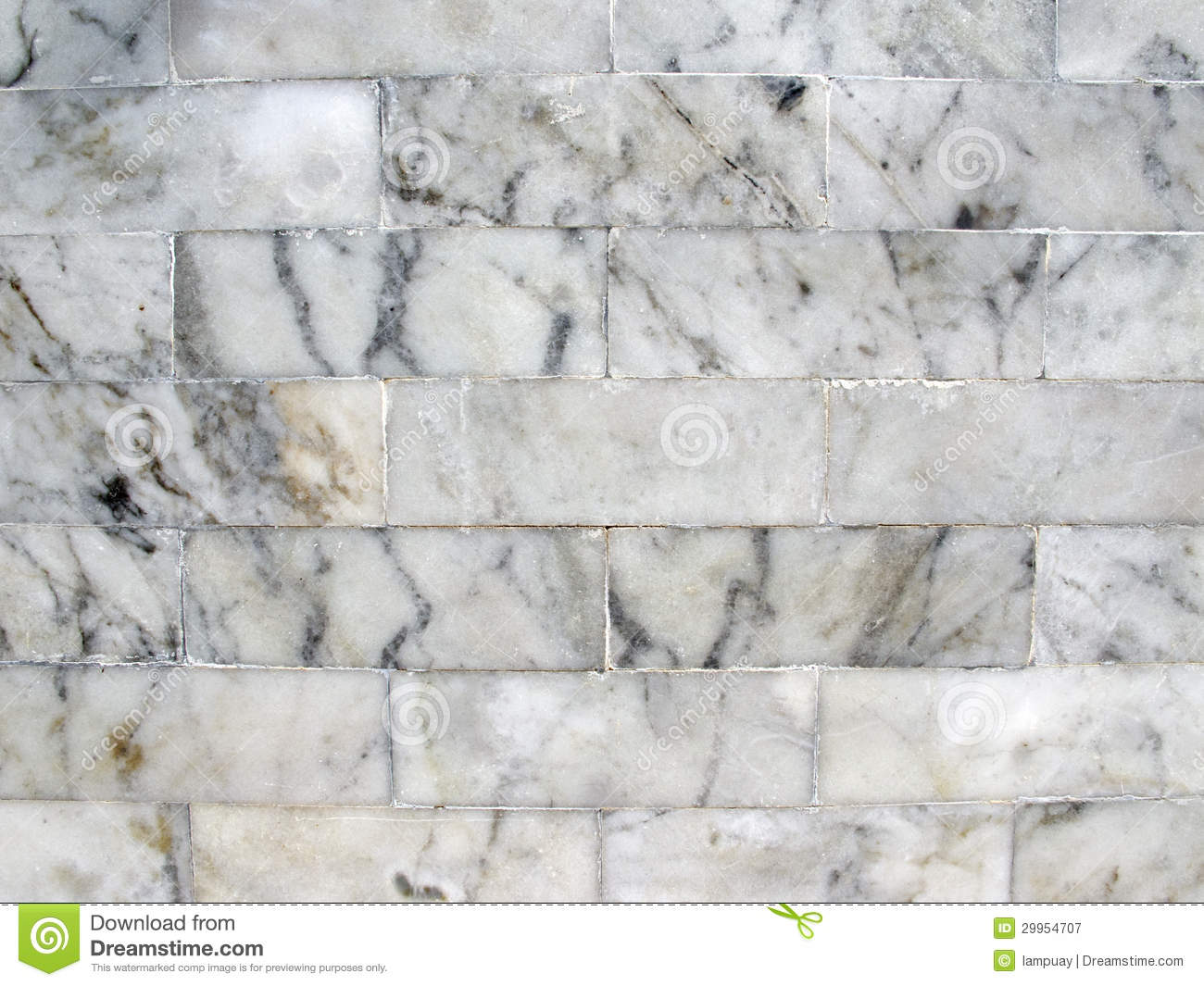 White And Grey Marble Plan Floor 3d