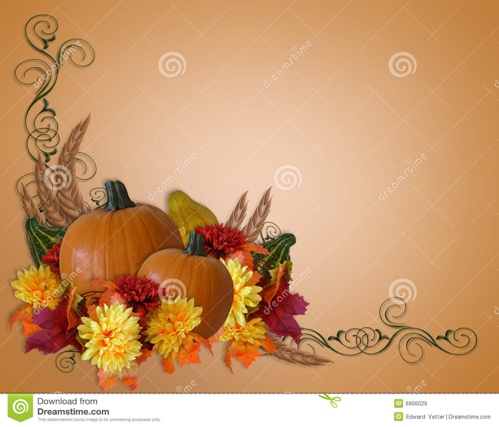 Free Fall Mums Wallpaper Thanksgiving Autumn Fall Background Stock Illustration