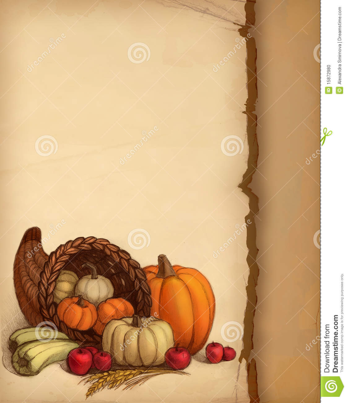 Thanksgiving background stock photo image 15872980