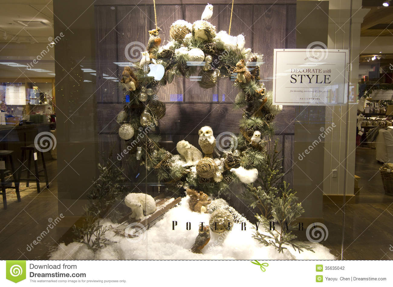 Deco Store Thanksgiving Christmas Decorations Home Deco Store Window