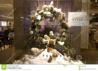 Thanksgiving Christmas Decorations Home Deco Store Window ...