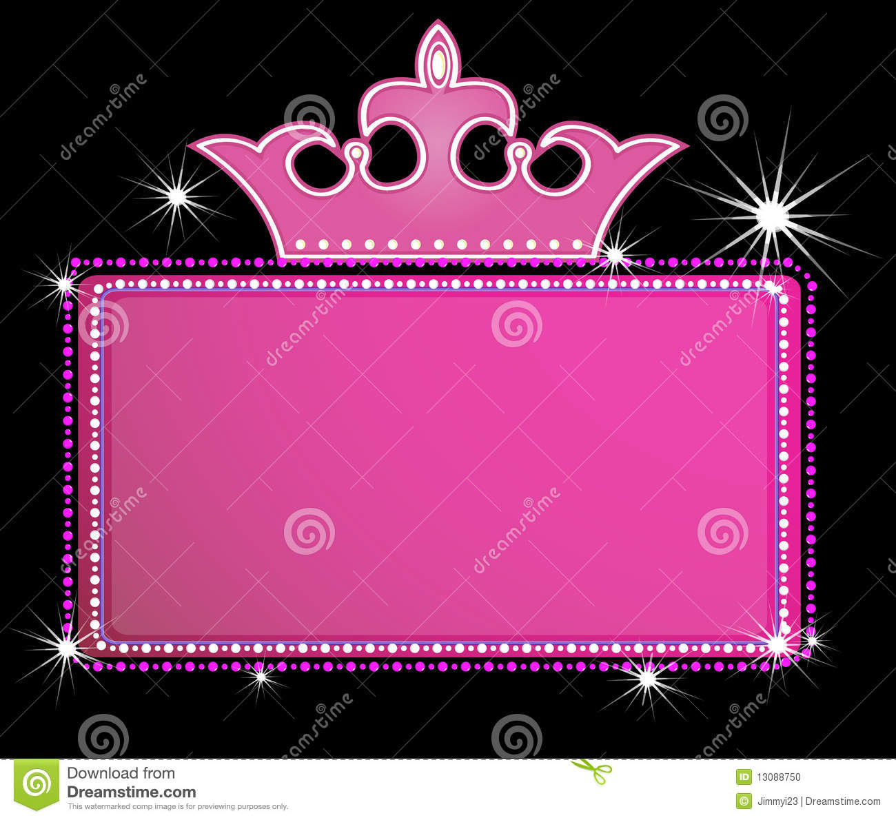 Boy And Girl Cartoon Wallpaper Theater Marquee Sign Stock Photo Image 13088750
