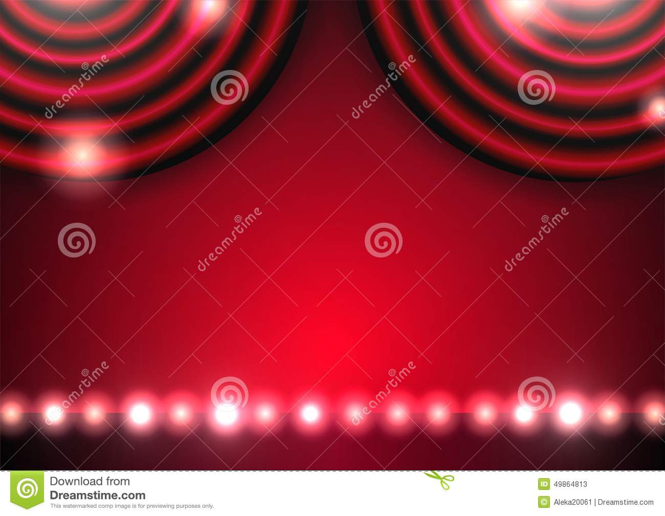 Red stage curtain with lights - Empty Stage Curtains With Lights Empty Stage Curtains With Lights Theatre Stage Curtain And Lights