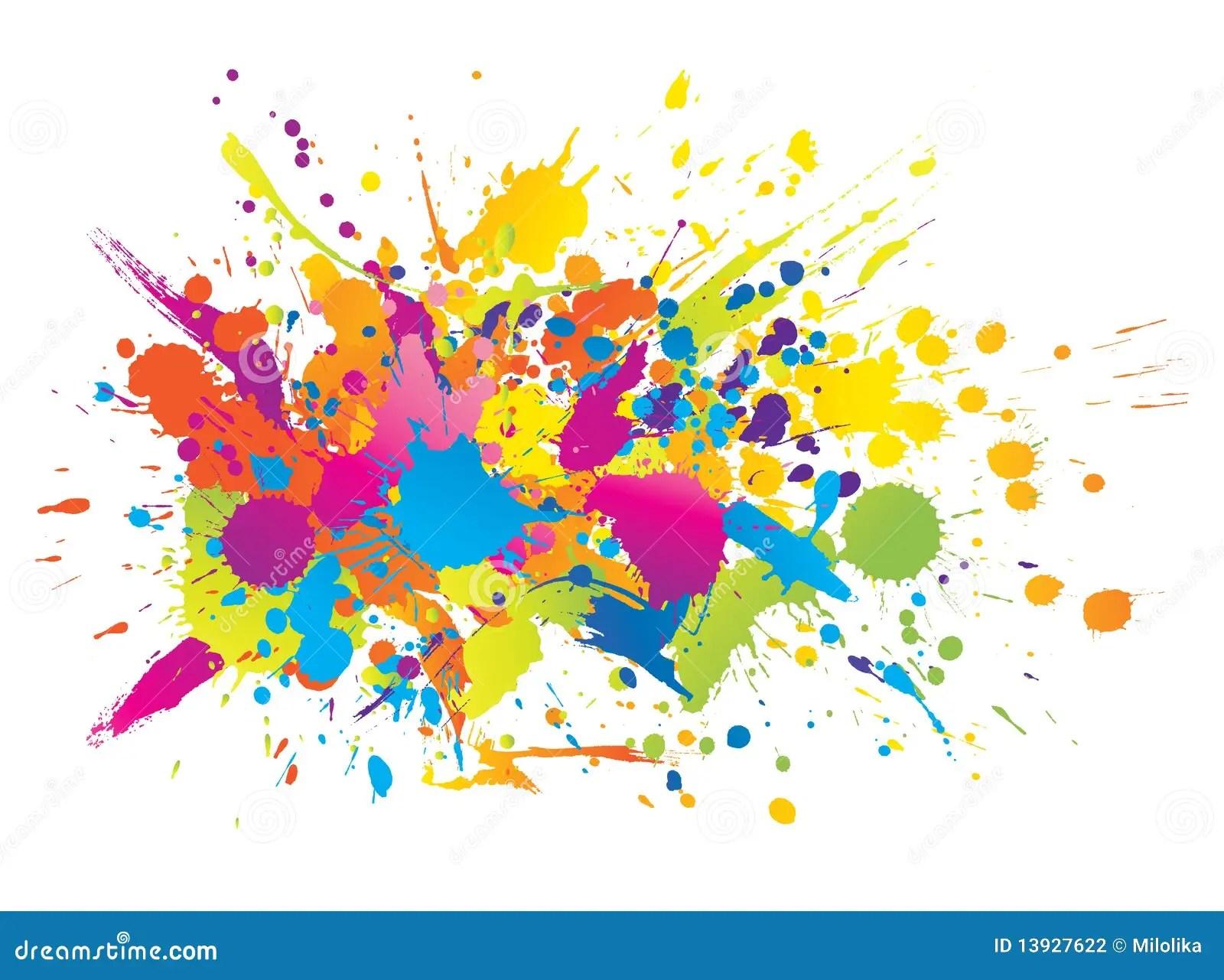3d Holi Wallpapers Free Download A Tinta Brilhante Colorida Espirra Ilustra 231 227 O Do Vetor