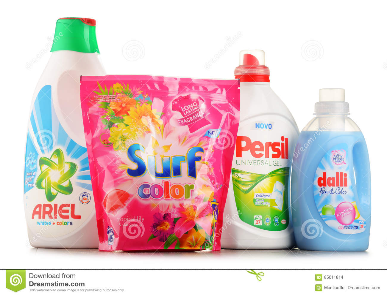 Lidl Pool Pflege Top Global Washing Detergent Brands Editorial Stock Image Image