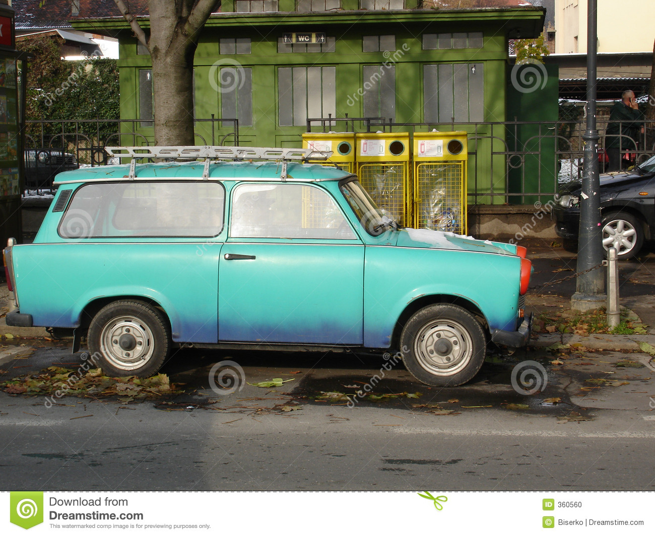 Trabant Clipart Trabant East German Car Stock Photo Image 360560