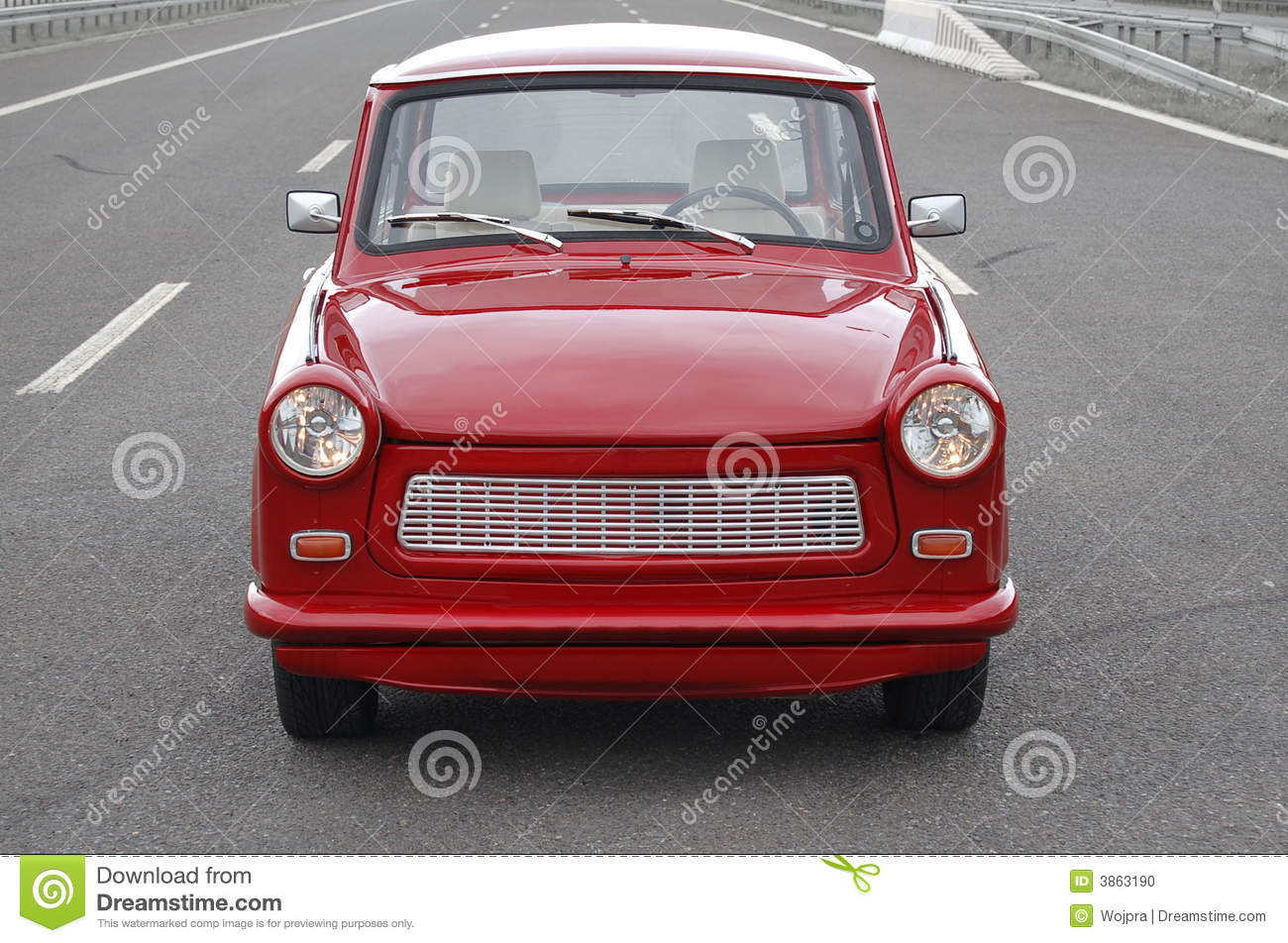 Trabant Clipart Trabant On A Highway Stock Photo Image Of Trabant Front 3863190