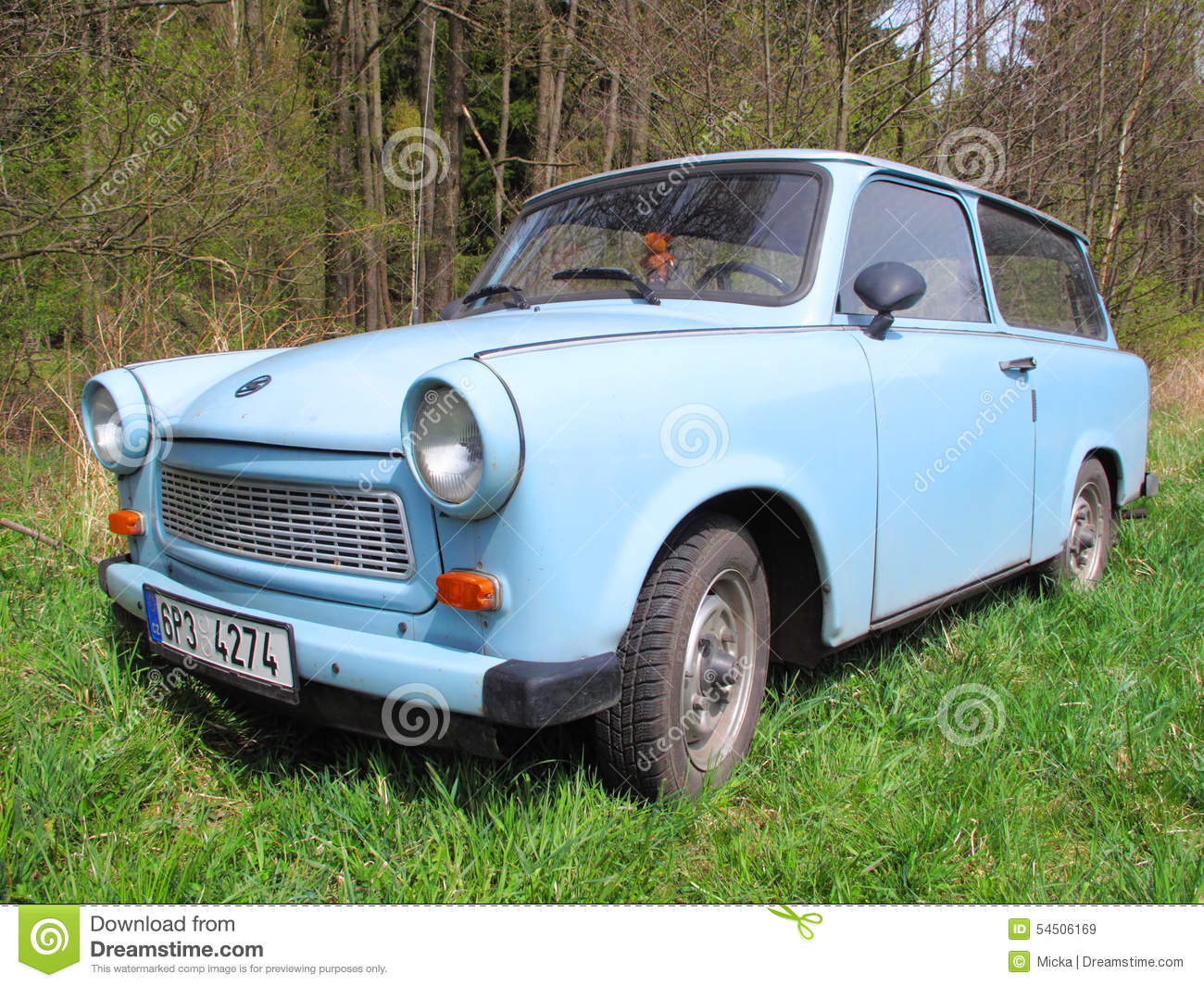 Trabant Clipart Trabant 601 Universal Car Editorial Stock Image Image