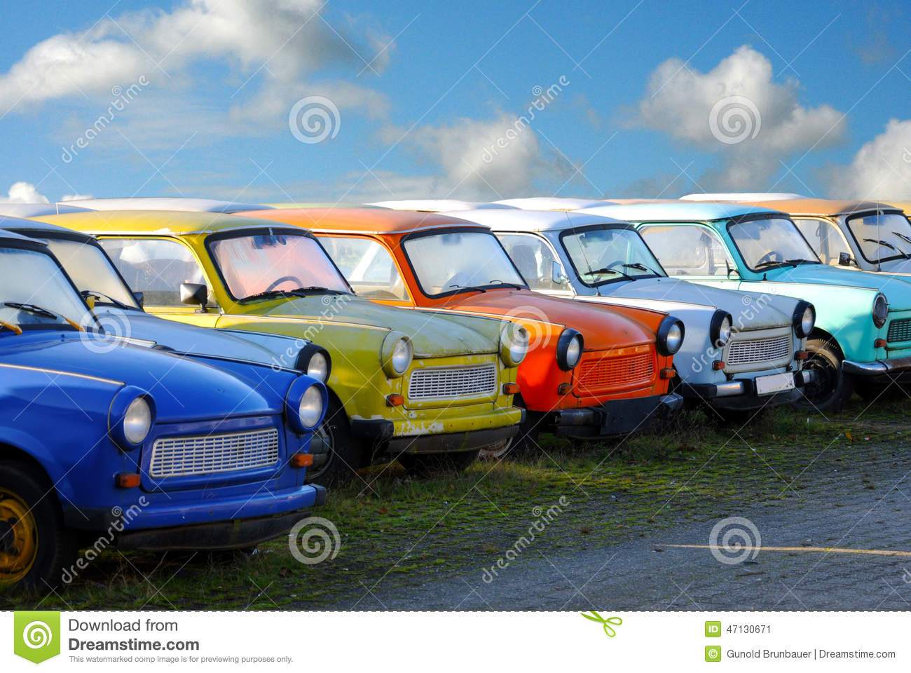Trabant Clipart Trabis Stock Photo Image 47130671