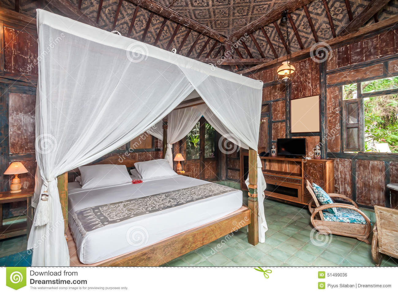Bali Style Bedroom Traditional And Antique Javanese Style Bedroom Villa In