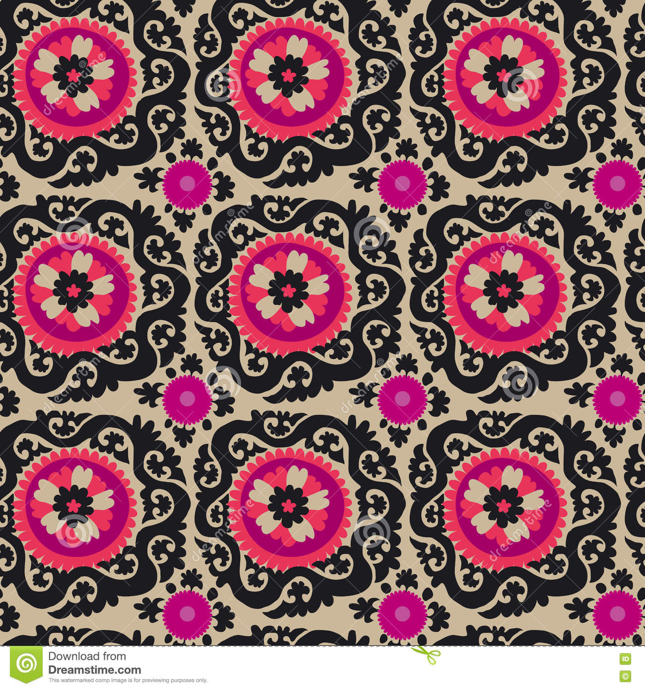 Asian Carpet Traditional Asian Carpet Embroidery Suzanne Illustration 74637895
