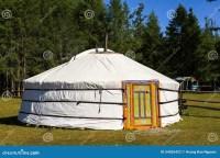 Modern Yurt, Mongolia Royalty-Free Stock Image ...