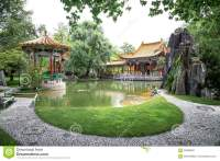 Traditional Japanese Garden Editorial Image ...