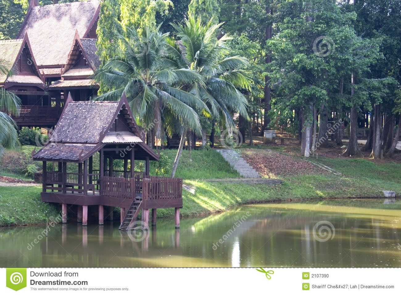 Creative Hd Wallpapers Free Download Traditional Thai House Stock Photo Image Of Garden Asia