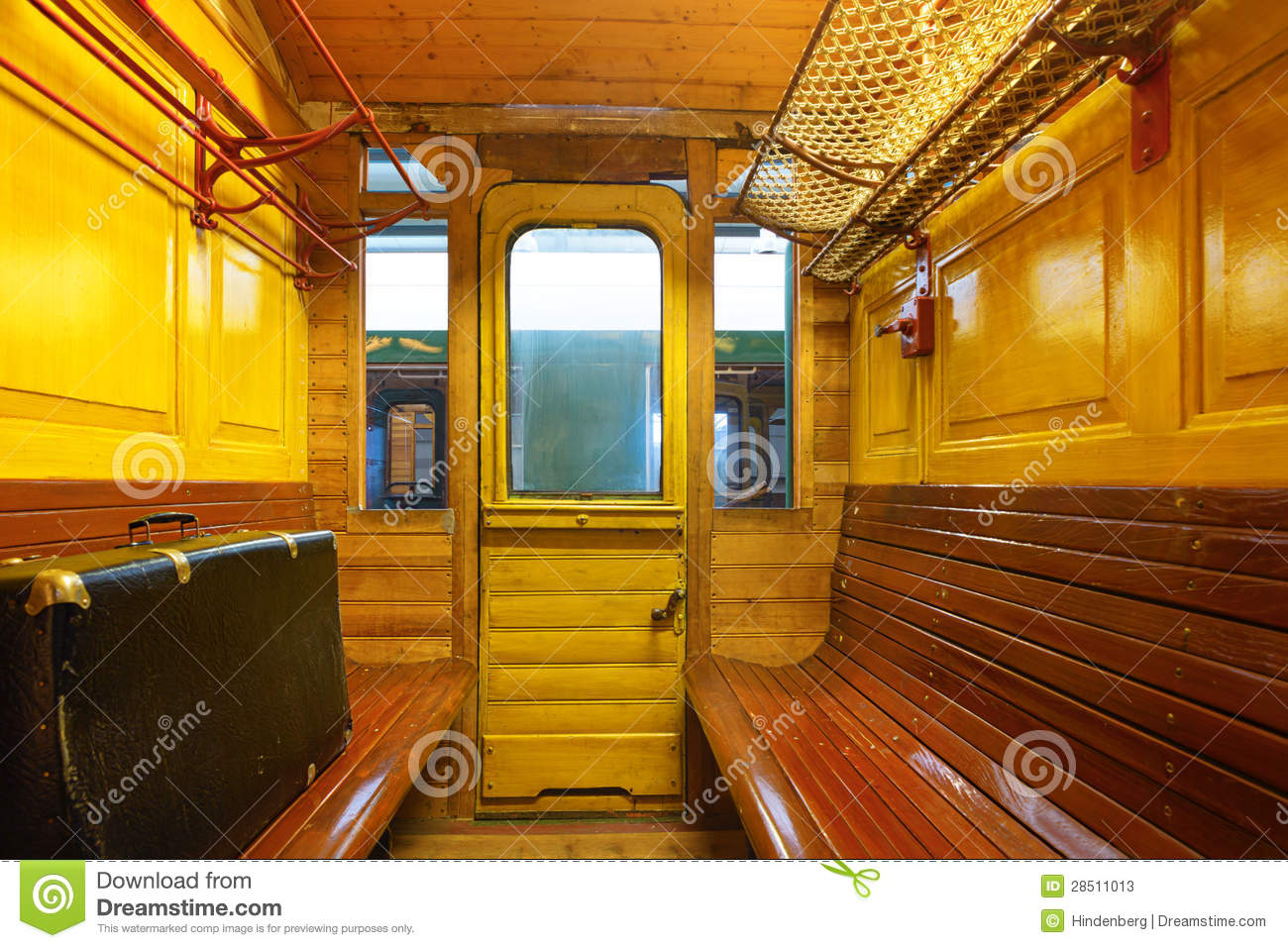 Berlin Interior Design Train Compartment Stock Image. Image Of Train, Compartment