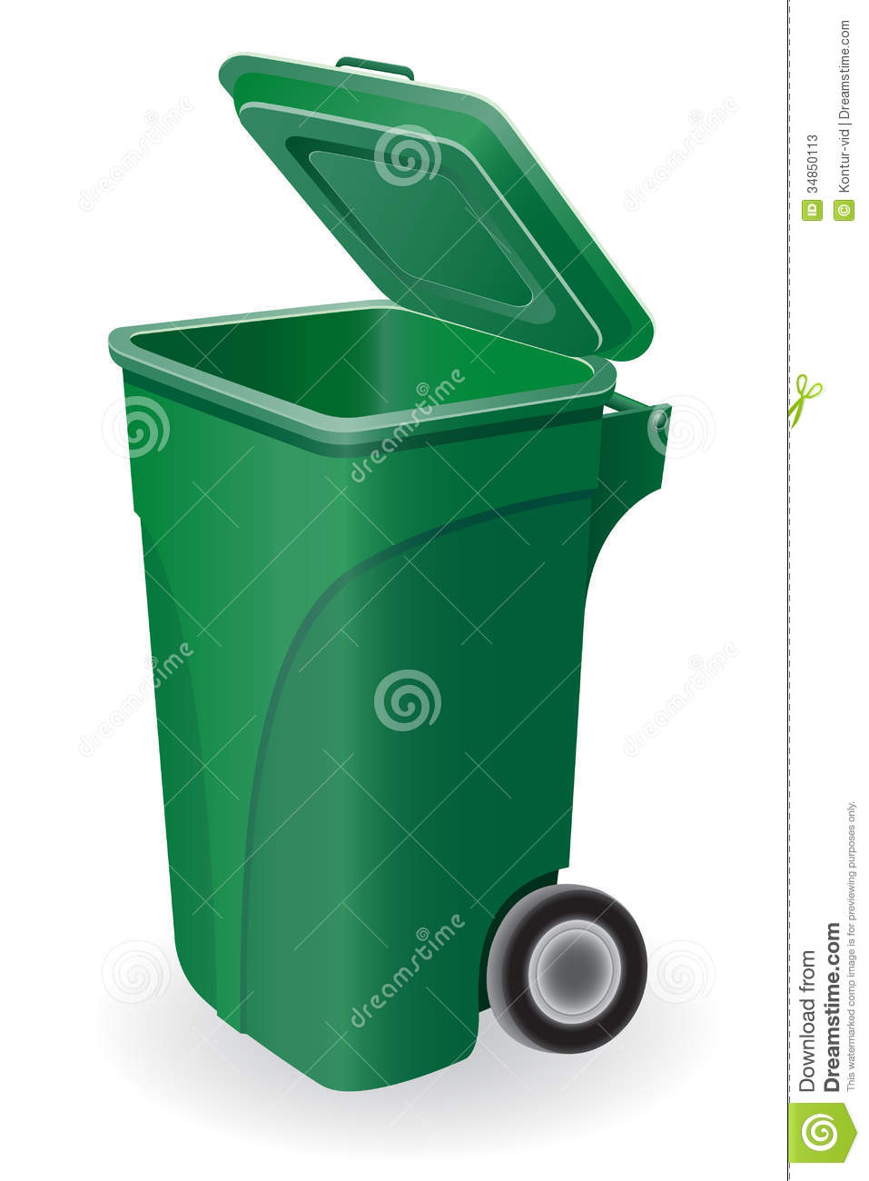 Images Stock Rubbish Trash Can Vector Illustration Stock Vector Illustration