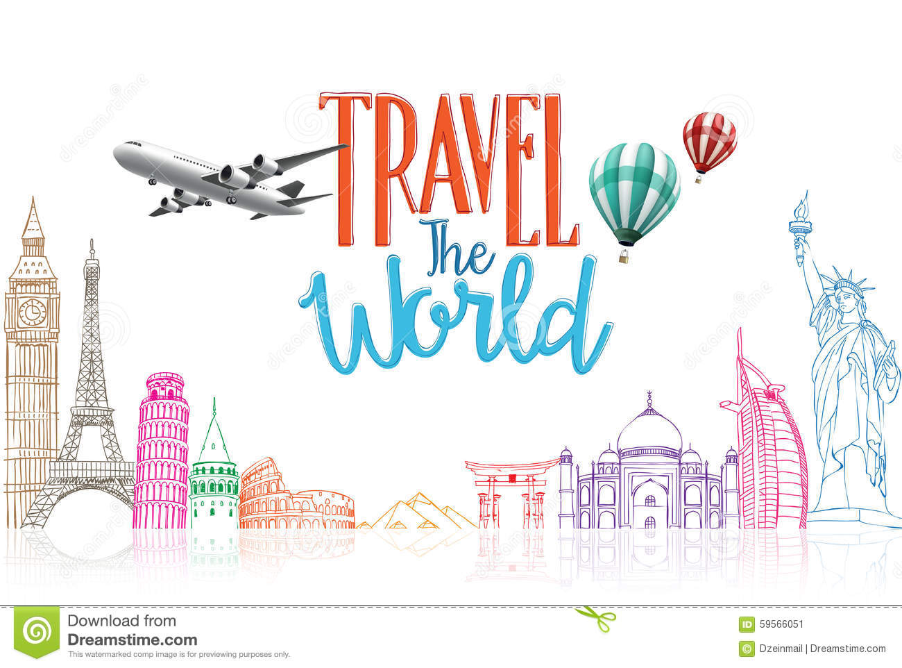 Wallpapers Wide With Quotes Travel The World Title Concept Design Background Of Line