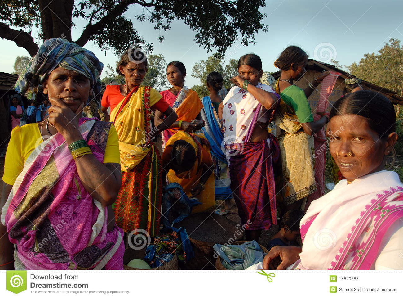 People India Tribal People In India Editorial Stock Photo Image Of