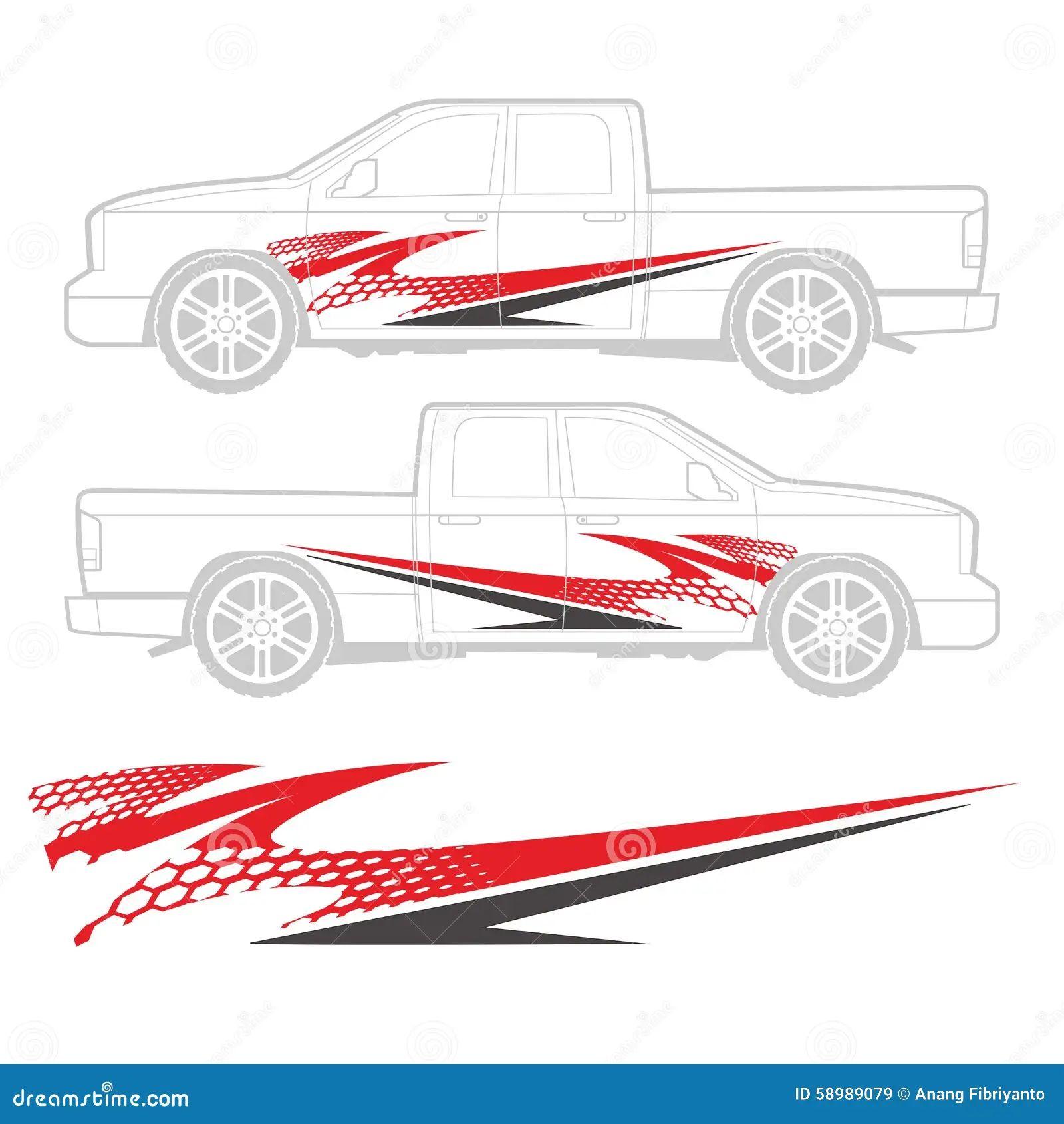 Car sticker design download -  Vehicle Decal Graphic Design Download