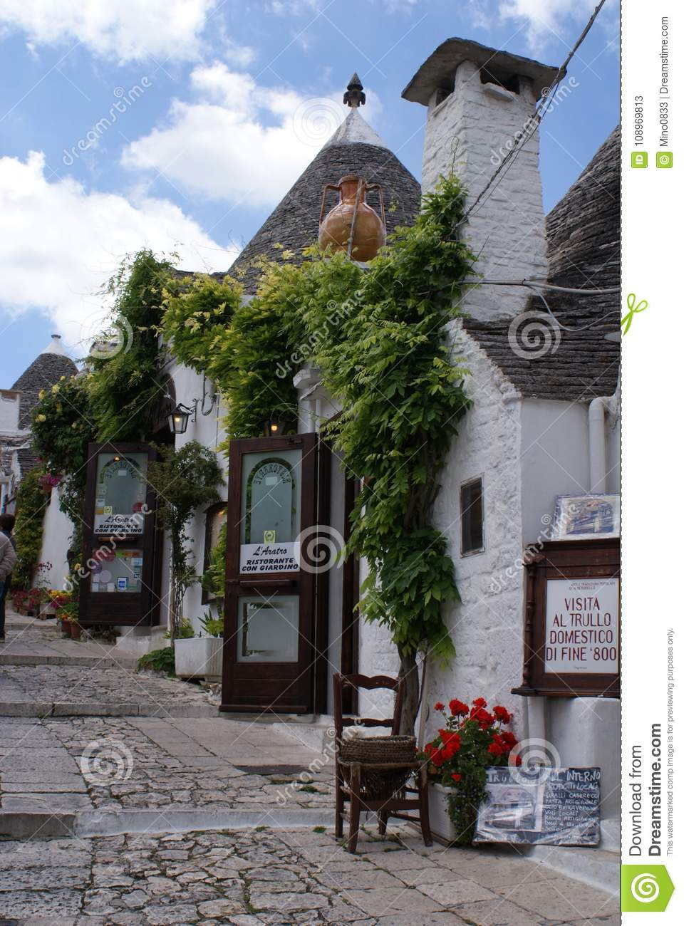 Ristoranti Alberobello The Trulli Of Alberobello Editorial Stock Photo Image Of