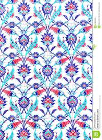 Turkish Artistic Wall Tile At The Fatih Mosque Stock Photo ...