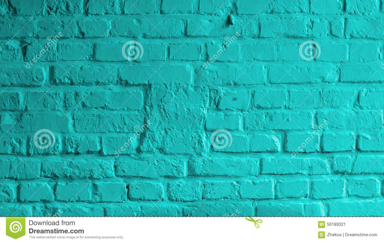 Turquoise Brick Wallpaper Turquoise Brick Background Stock Image Image Of Part