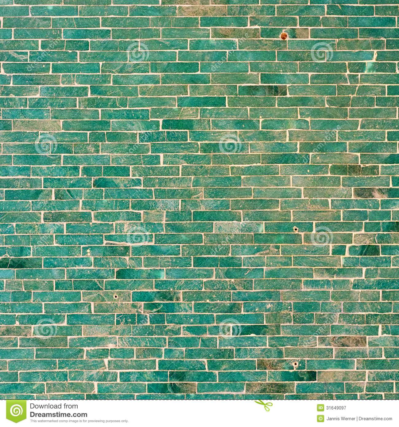 Turquoise Brick Wallpaper Turquoise Tile Wall Background Stock Image Image Of