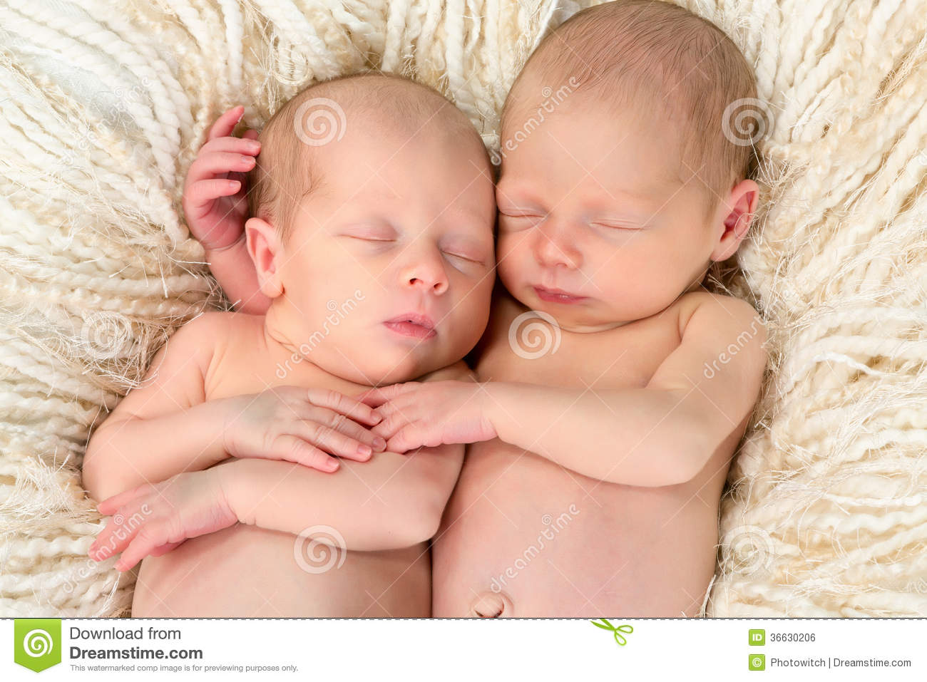 3d Wallpaper Girl And Boy Twin Babies Together Royalty Free Stock Image Image