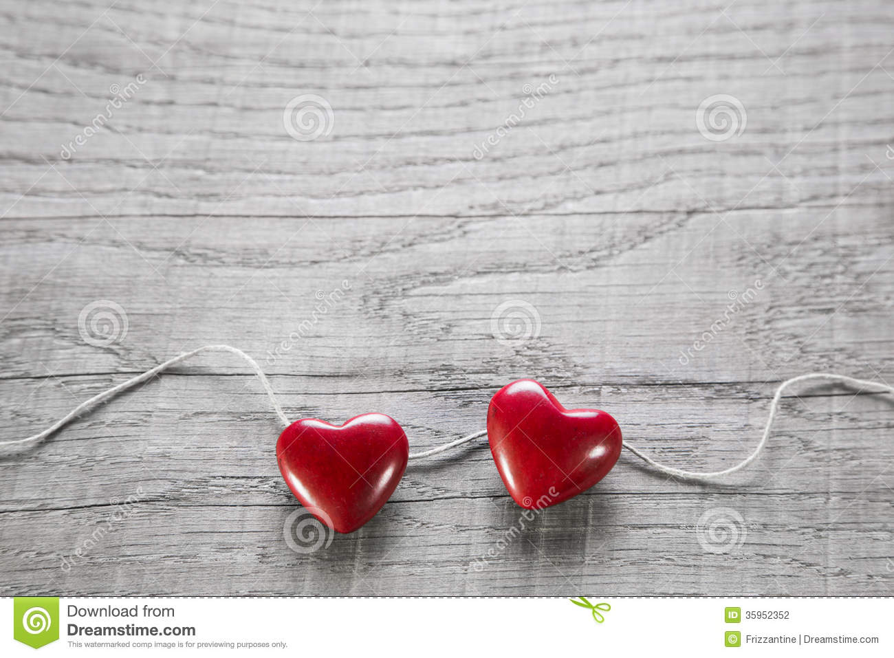3d Broken Hearts Wallpaper Two Red Hearts On A Wooden Shabby Background For Valentine