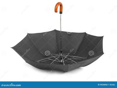 Umbrella Upside Down Stock Photo - Image: 9020060