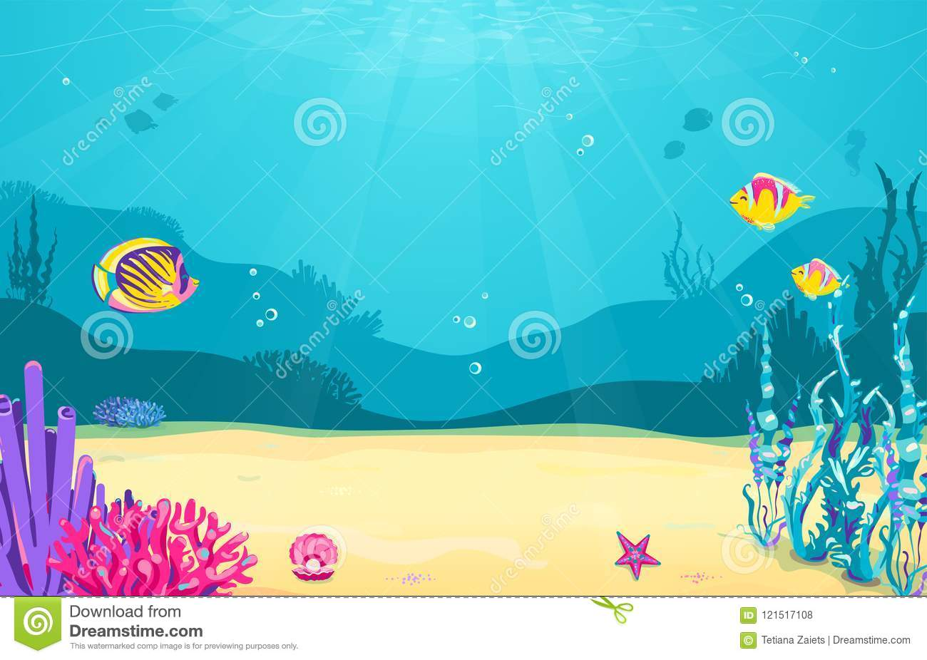 Cute Baby Dolphin Wallpaper Starfish Cartoons Illustrations Amp Vector Stock Images