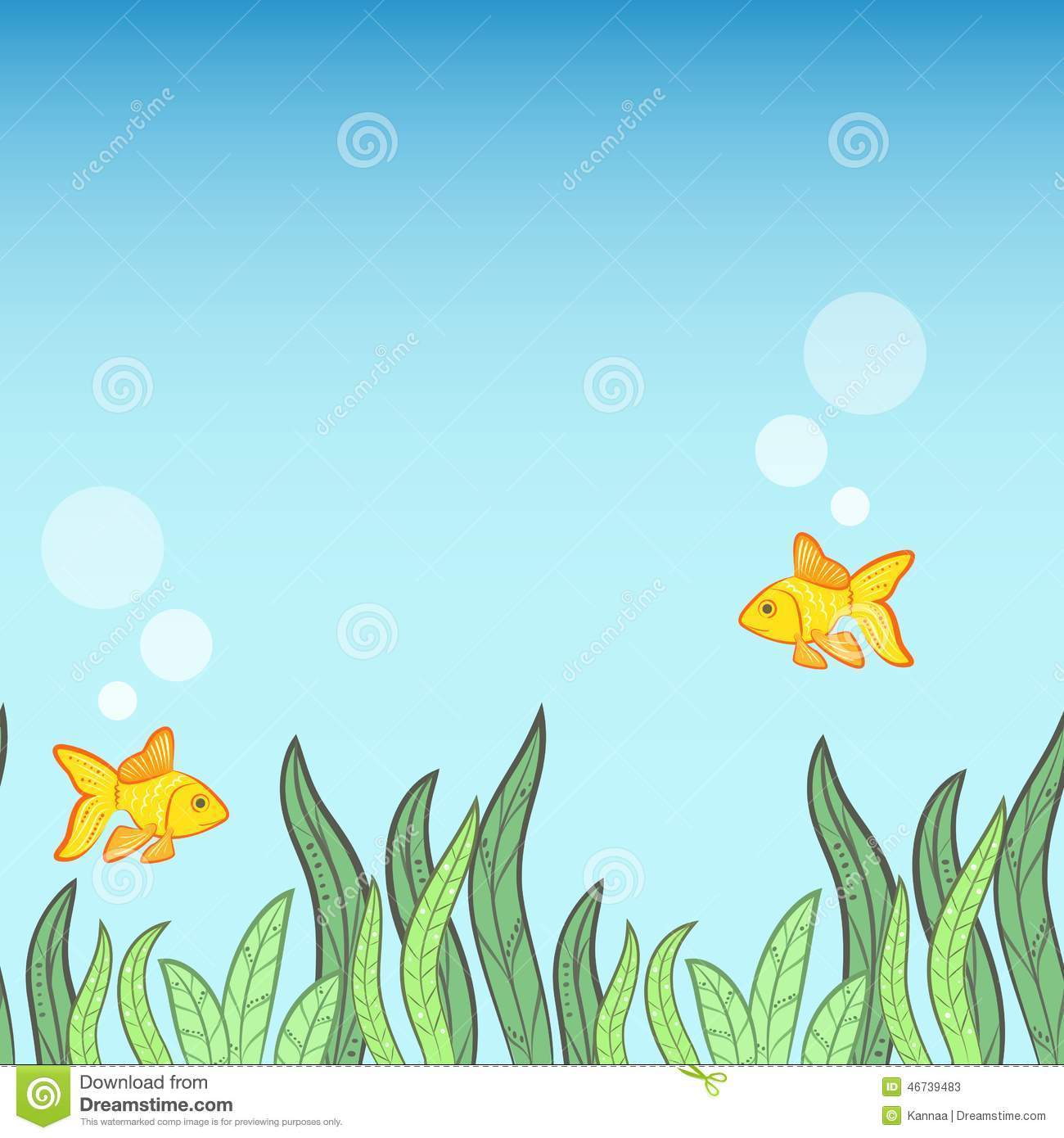 Cute Paw Print Wallpaper Underwater Game Background Stock Vector Illustration Of
