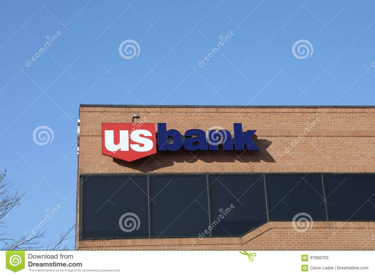 Bank At Chesterfield Mall Us Bank Saint Louis Mo Editorial Stock Photo Image Of Commerce