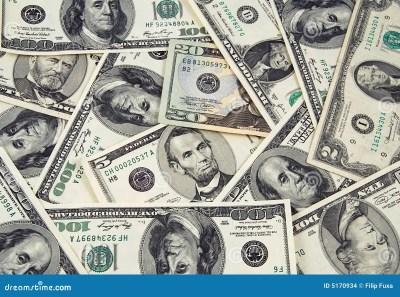 US money stock photo. Image of bank, group, cash, savings - 5170934