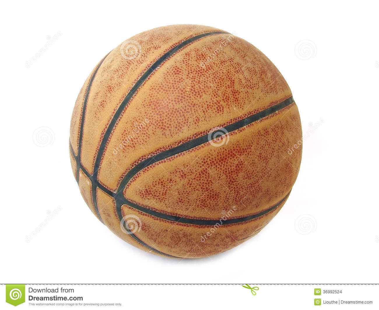 Basketball Ball Basketball Ball Isolated Stock Photo Image Of Leather 36992524