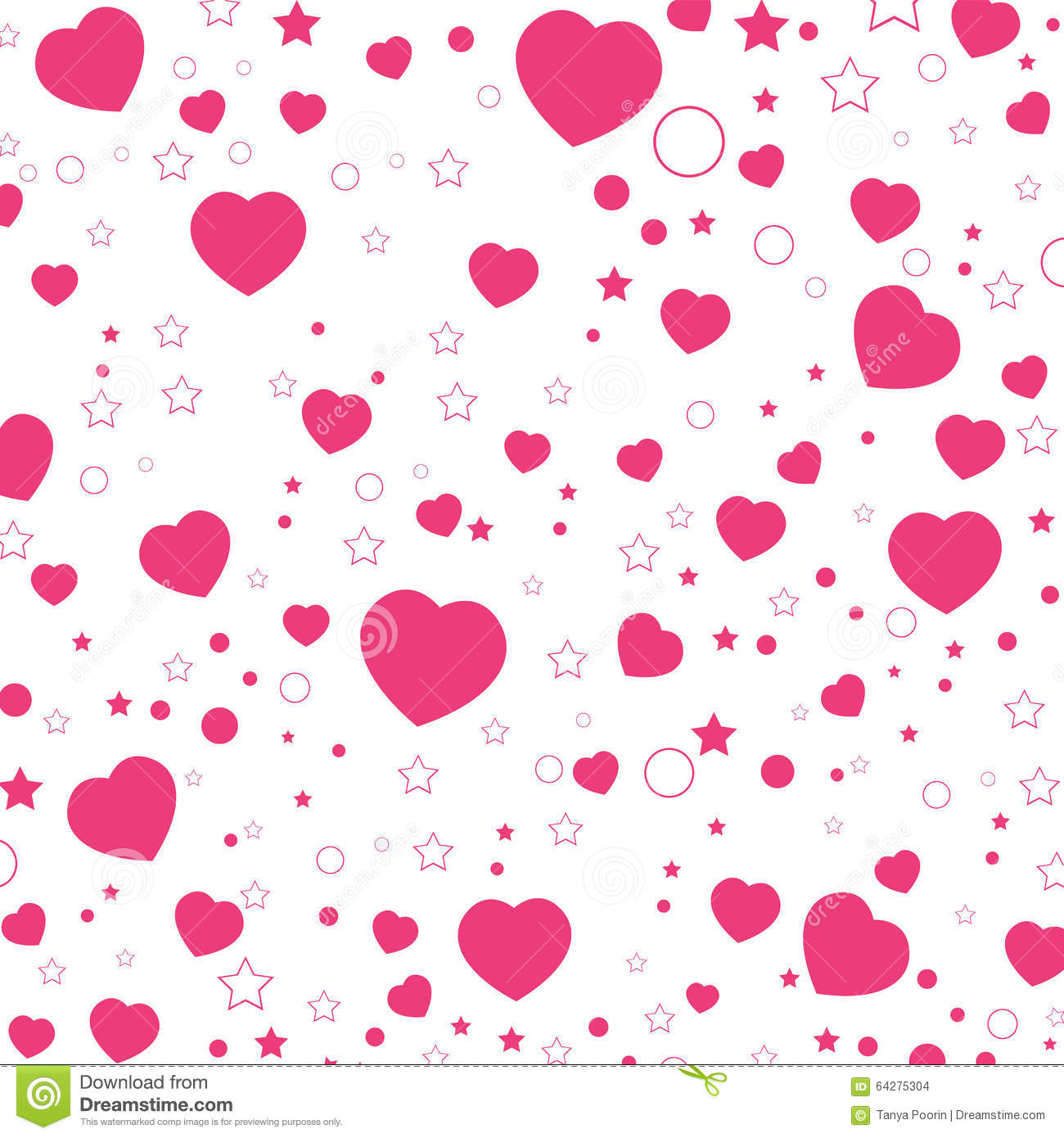Fall In Love Couples Wallpapers Valentine Day Et Coeur Rose D Isolement Sur Le Fond Blanc