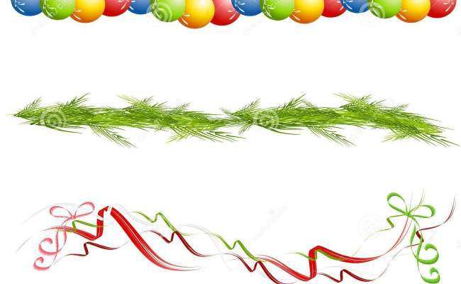 Christmas borders in publisher decoration