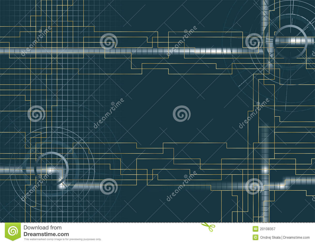 3d Wallpaper Squares Vector Background Technical Stock Vector Image 20108357