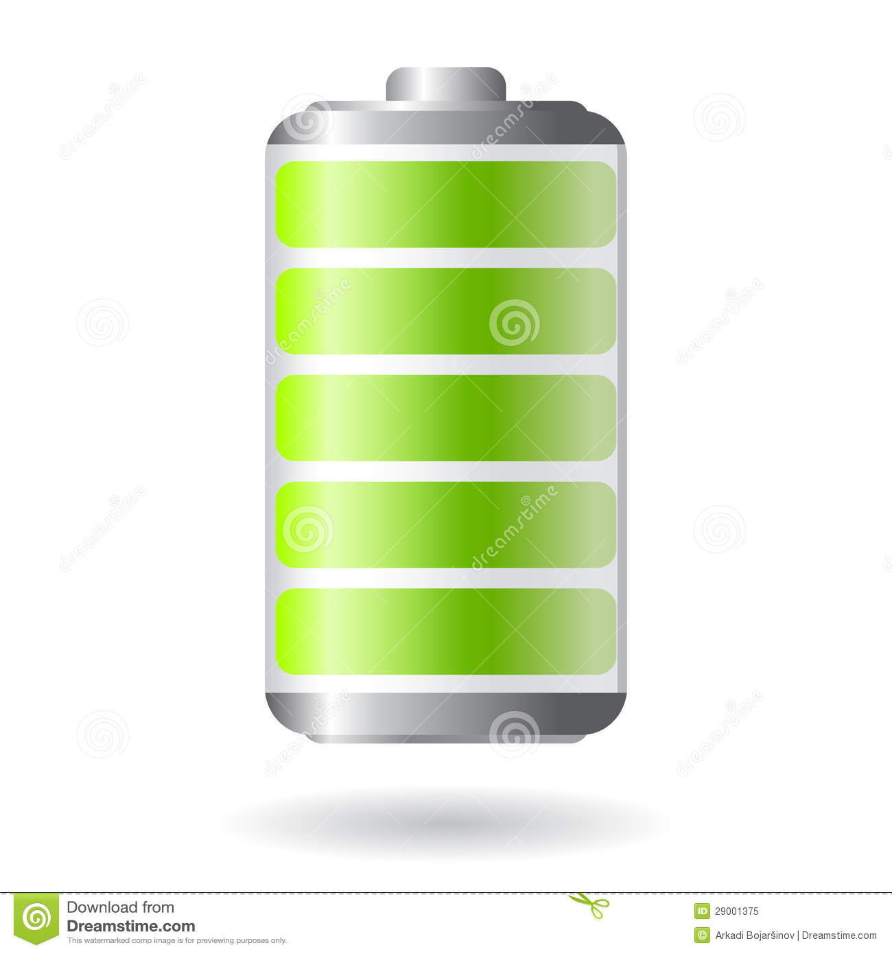 Alkaline Batterie Vector Battery Icon Stock Vector. Illustration Of Glassy