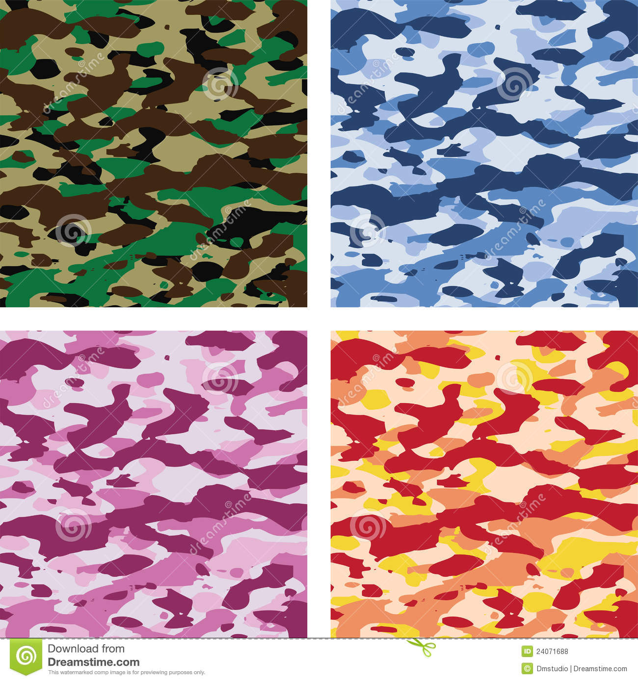 Pixel Forest Wallpaper Cute Vector Colorful Camouflage Patterns Royalty Free Stock