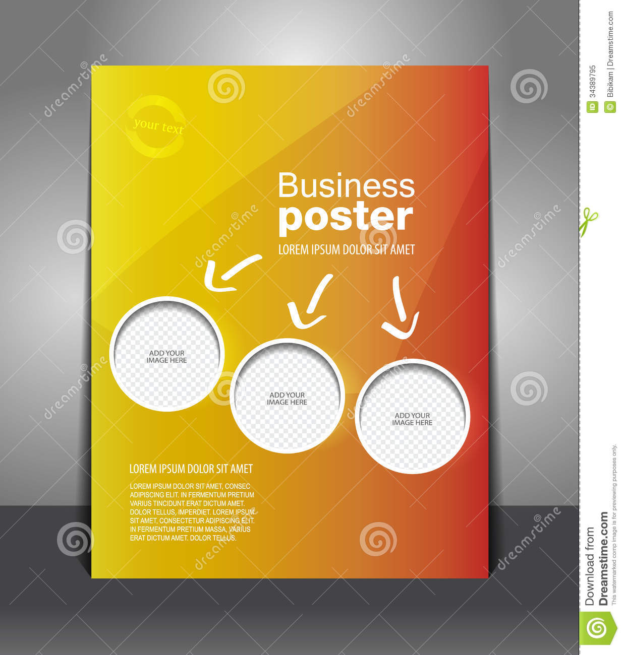 Poster design vector download -  Design Flyer Image Magazine Poster Download